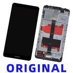 Pantalla Completa Original LCD Y Táctil Con Marco para Huawei Mate 9 - Negro