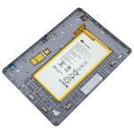 Tapa Trasera Original Con Batería para Huawei Mediapad T3 De 10 Pulgadas (2017) - Gris