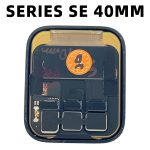 Pantalla Completa LCD Y Táctil para Apple Watch Series SE 40mm – Negro De Desmontaje