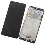Pantalla Completa Original LCD Y Táctil Con Marco para Samsung Galaxy A32 (2020) 4G A325F – Negro