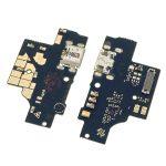 Placa De Conector De Carga Micro USB Con Micrófono para ZTE Blade A5 2020