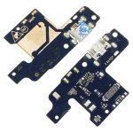 Placa De Conector De Carga Micro USB Con Micrófono para ZTE Blade V10 Vita