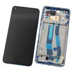 Pantalla Completa LCD Y Táctil Con Marco para Xiaomi Mi11 Lite 5G – Azul